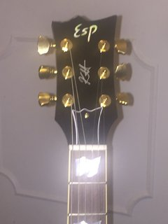 ESP KHDC stblk new guitar never played 2013