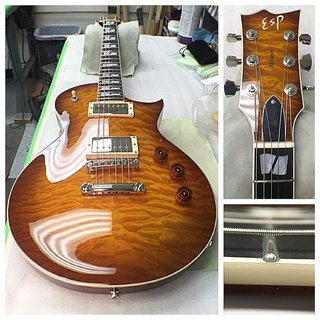 ESP USA ECLIPSE Tea Sunburst