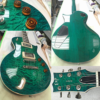 ESP USA ECLIPSE DUNCAN EMERALD GREEN SUNBURST