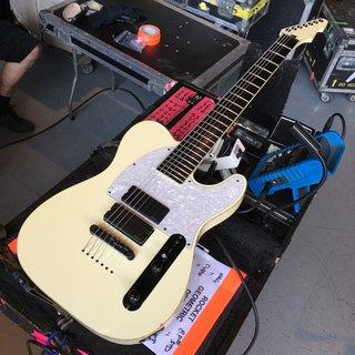 ESP Custom Stephen Caprenter SCT-7B Vintage White