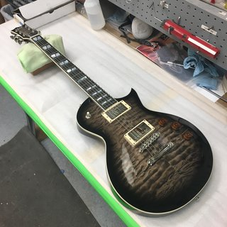 ESP USA Eclipse See Thru Black Sunburst