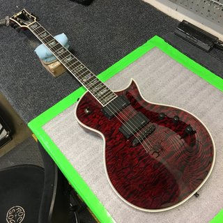 Monte Pittman (Madonna) ESP Custom Shop Eclipse See Thru Black Cherry
