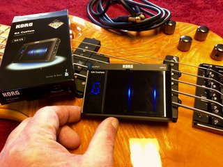 Korg GA Custom Chromatic Bass Guitar Tuner