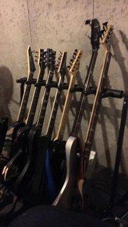 Against Hope guitar rack