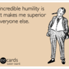 Humility Funny