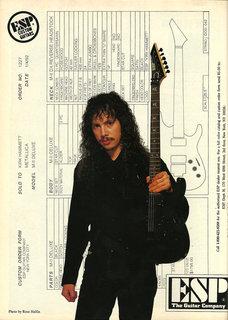 1990? ESP KH-2 (original Caution)