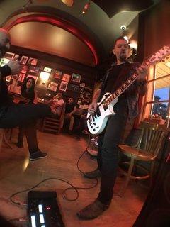 GIG AT ROCK CAFE