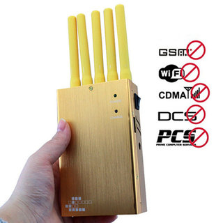 5 bands cell phone jammer