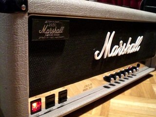 Marshall 25th Anniversary Silver Jubilee