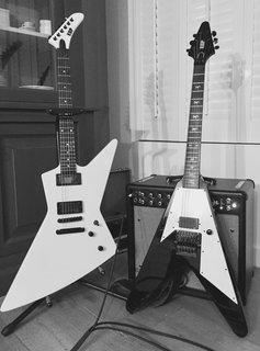 ESP MX250 II (2008) & ESP MV-290 (1992)