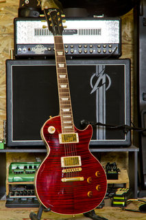 Gibson Les Paul Tiger Red