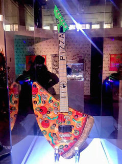 Andrew W.K.'s ESP in The Museum of Pizza