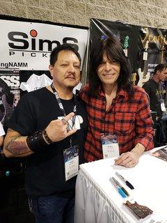 Met Rudy Sarzo