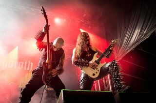 Guh Lu and Infernus - Gorgoroth at Hellfest