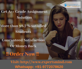 Get assistance from the highly qualified experts to solve your assignments: