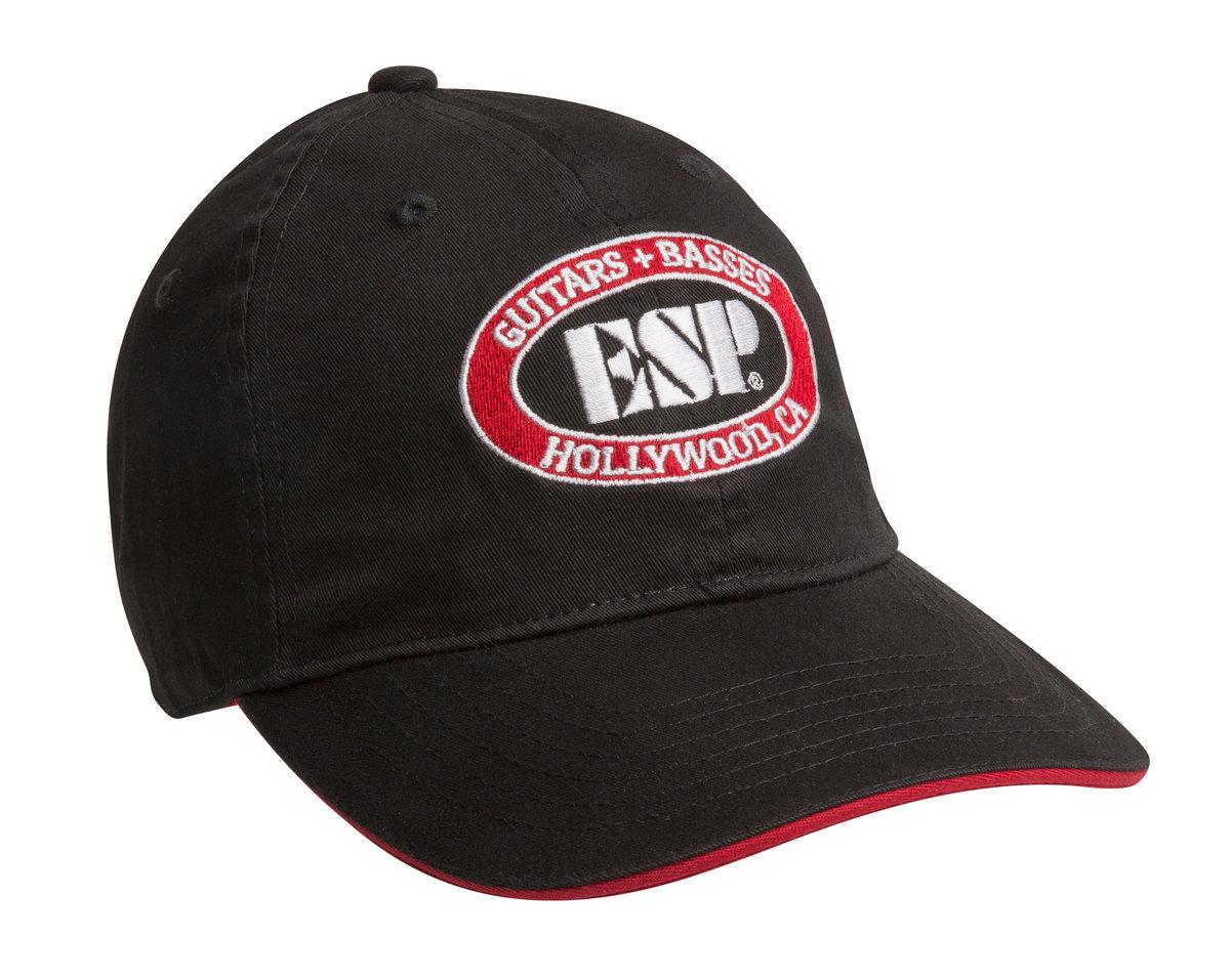 Hollywood Logo Baseball Cap - The ESP Guitar Company cfb6a336155