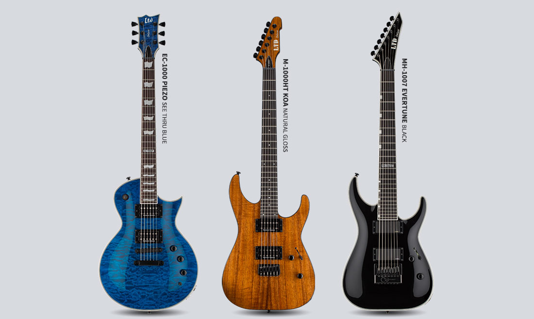 2017 product preview the esp guitar company. Black Bedroom Furniture Sets. Home Design Ideas