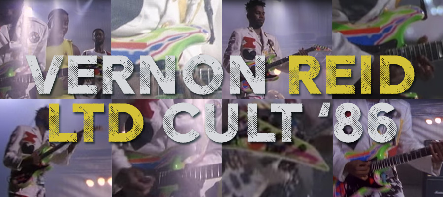 Vernon Reid on the LTD Cult '86 - The ESP Guitar Company