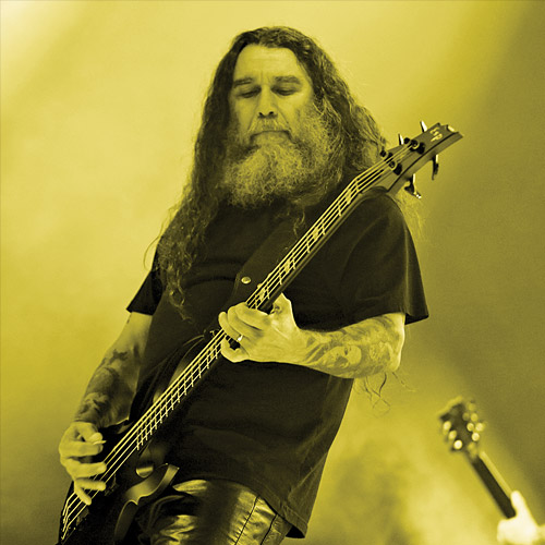 Tom Araya - Esp guitar player