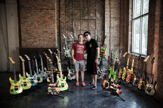 Best ESP guitar collection on the Planet!