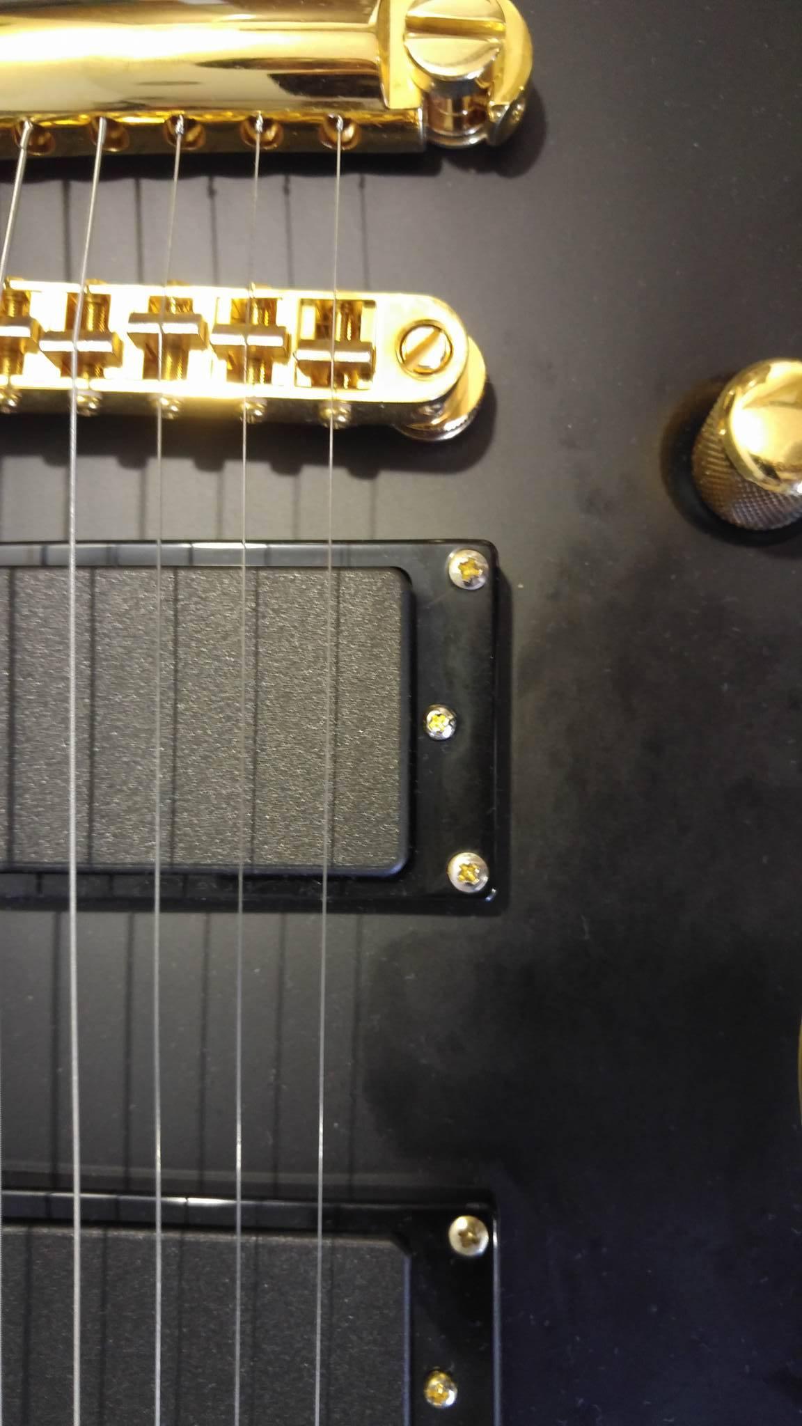 LTD EC-1000 Deluxe. Gold hardware problem. - The ESP Guitar Company