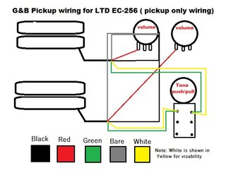 esp ltd wiring diagram for hss wiring diagram ec-256 - the esp guitar company 1982 wiring diagram for kawasaki k z ltd 750 #5