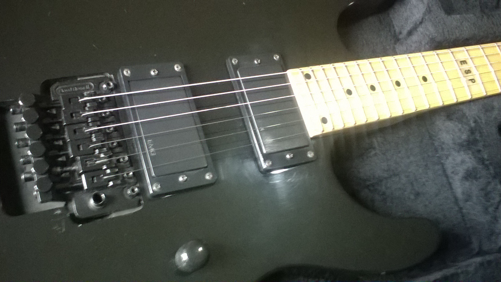 Well, no ESP branded guitar was made in Korea, so that's already a knock  against it.