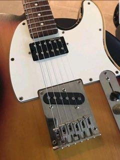 LTD TE-202 mods - The ESP Guitar Company