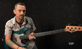LTD PT-4 Bass Demo by Pancho Tomaselli