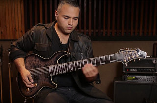 Javier Reyes on the LTD JR-608