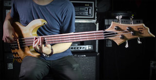 LTD B-204FL Bass Demo