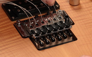 Restringing with a Floyd Rose