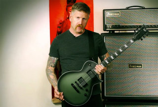 Bill Kelliher (Mastodon) and the LTD BK-600
