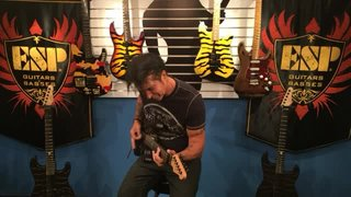 George Lynch Hangout at ESP HQ