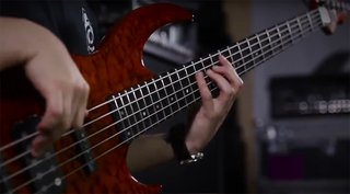 LTD BB-1005 Bass Demo