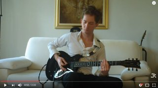 ESP JR Eclipse guitar: John Rox plays Fear by Virtual Cage
