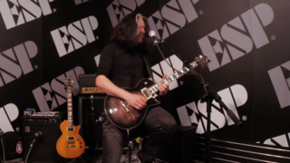 Live at NAMM 17: Alex Skolnick plays ESP USA