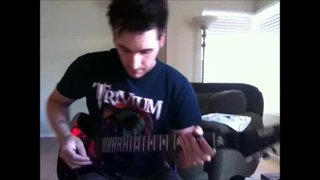 ESP KH-2 Wherever I May Roam Guitar Solo
