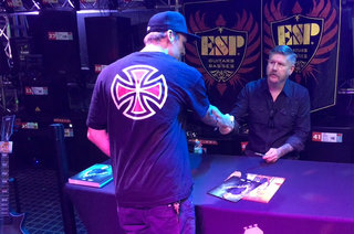 Bill Kelliher (Mastodon) Appearance at Guitar Center