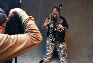 Max Cavalera on his ESP and LTD Signature Guitars