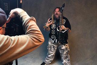 Max Cavalera on his ESP and LTD Signature Guitars