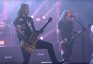 "Slayer: ""Raining Blood"" live on The Tonight Show"