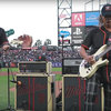 James Hetfield & Kirk Hammett Perform National Anthem: Aug 7 2017