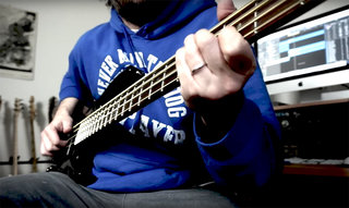 Alberto Rigoni Grooves on an LTD B-208