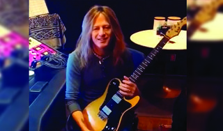 Doug Aldrich on his ESP Custom