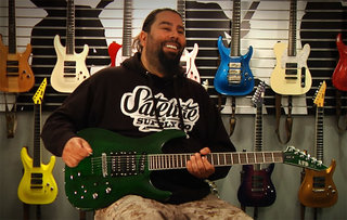 Stephen Carpenter on the LTD SC-20