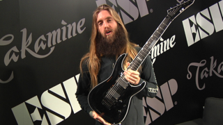 Mark Heylmun (Suicide Silence) - ESP at NAMM 2018