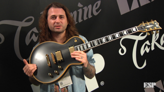Mike Schleibaum (Darkest Hour) - ESP at NAMM 2018