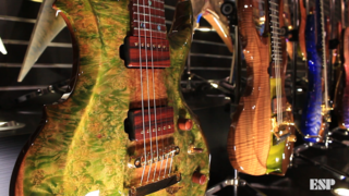 ESP Exhibition Limited Series - ESP at NAMM 2018