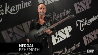 Nergal (Behemoth) - ESP at NAMM 2018